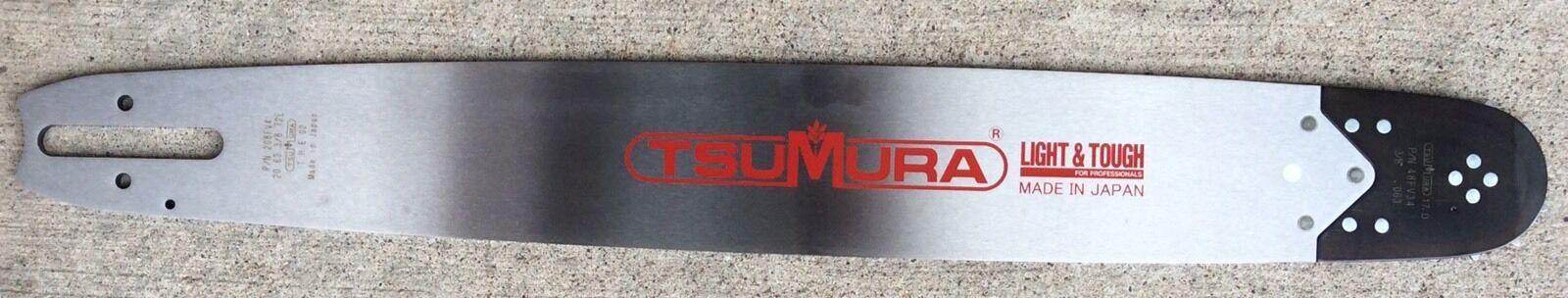 Guía de Tsumura 20  Bar 3 8-063-72DL Repl. Stihl 044 066 MS360 Oregon 203 rndd 025