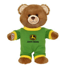 NEW! 2016 *JOHN DEERE* BUILD-A-BEAR *BROWN TEDDY BEAR CUB* w/Green Outfit NEW!!