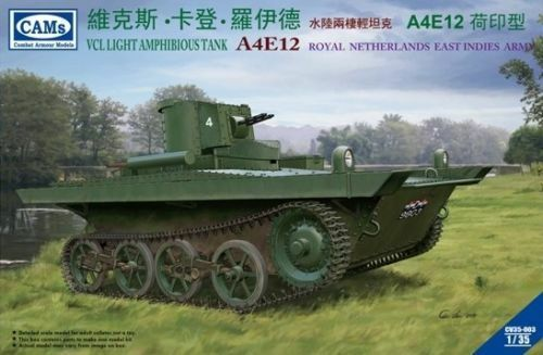 Riich Models 1 35 VCL Amphibious Tank A4E12 Royal Netherlands East Indies Army