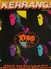 KERRANG 44 - DIO - THE TUBES - UFO - LEE AARON - RUSH