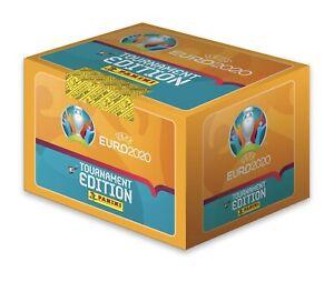 PANINI EURO 2020 ADESIVI edizione del torneo 10, 20, 50, 100 confezioni