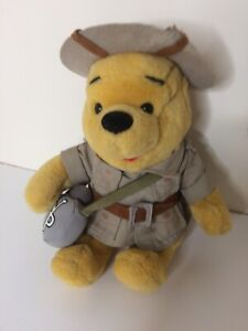 Walt-Disney-World-Winnie-The-Pooh-Safari-Explorer-giocattolo-morbido-peluche