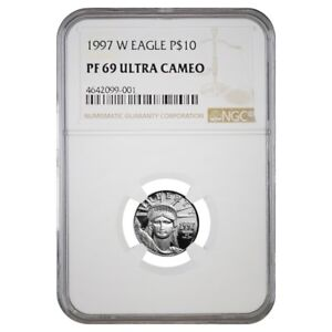 1997-W-1-10-oz-10-Platinum-American-Eagle-Proof-Coin-NGC-PF-69-UCAM