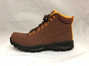 7504ccc3 Details about NEW MEN'S NIKE MANOA LEATHER SNEAKER BOOT 454350-203 FAUNA  BROWN