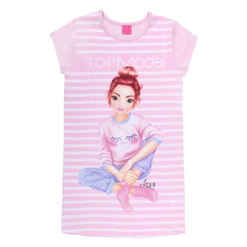 NUOVO topmodel Lexy Sleepshirt Camicia Da Notte Pigiama Tg 128 140 152 164 98810 Rosa