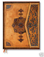Paperblanks Lined Writing Journal Gold Teal Safavid Design Ultra Size 7x9