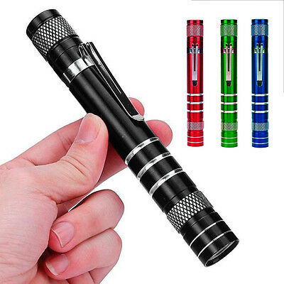 Mini 1200LM High Power Torch Cree Q5 AA LED Tactical Flashlight Lamp Light Torch