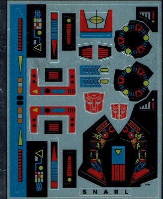 Transformers génération 1 G1 autobot swoop repro labels//stickers