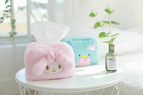 Melody Penguin Plush Tissue Boxes gift Paper Cover Holder cartoon Pouch