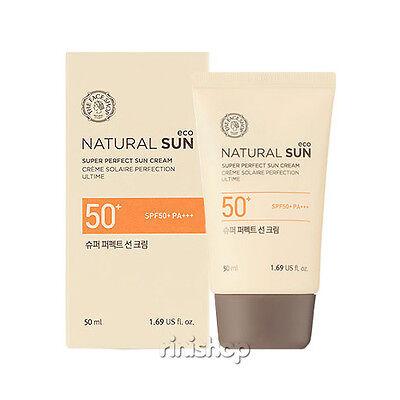 [THE FACE SHOP] Natural Sun Eco Super Perfect SunCream SPF50 PA+++ 50ml Rinishop