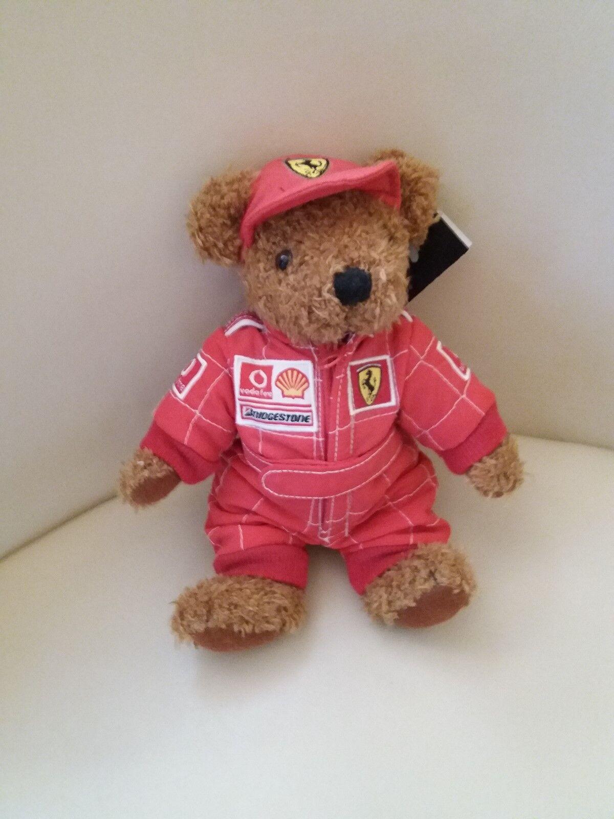 F1 Ferrari Teddy Bear with tags