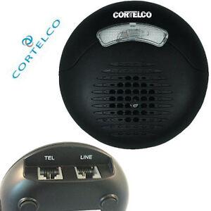 Cortelco Loud External Phone Ringer Visual Strobe Flasher Telephone 000123ELTPAK