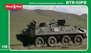 1-48-BTR-60PB-Soviet-carrier-NEW-series-from-Mikromir-rubber-wheels