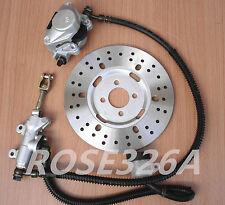 Rear Caliper Cylinder Hydeaulic Brake Pad Disc for 125cc 150cc 200cc 250cc ATV