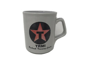 Vintage-Texaco-TRMI-Burbank-Training-Center-8-OZ-Mug-Coffee-Cup-Ceramic