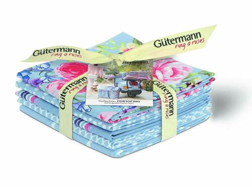 Gutermann Fat Quarter Bundles Ring a Roses 100/% Cotton Fabric Quilting Patchwork