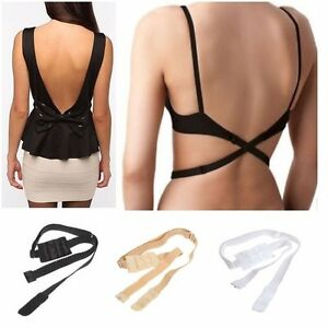 70bd65b637f89 3 pack womens low back bra strap extender backless top singlet black ...