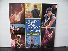 "BRUCE SPRINGSTEEN & THE E STREET BAND Born To Run Live UK CBS RECORDS 7"" VINYL"