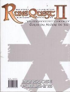 JDR-RPG-JEU-DE-ROLE-MONGOOSE-RUNEQUEST-II-ECRAN-DU-MAITRE-DE-JEU-FRANCAIS