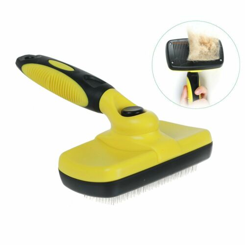 Pet Grooming Brush Self Cleaning Slicker Brushes for Dogs Pet Shedding Tool