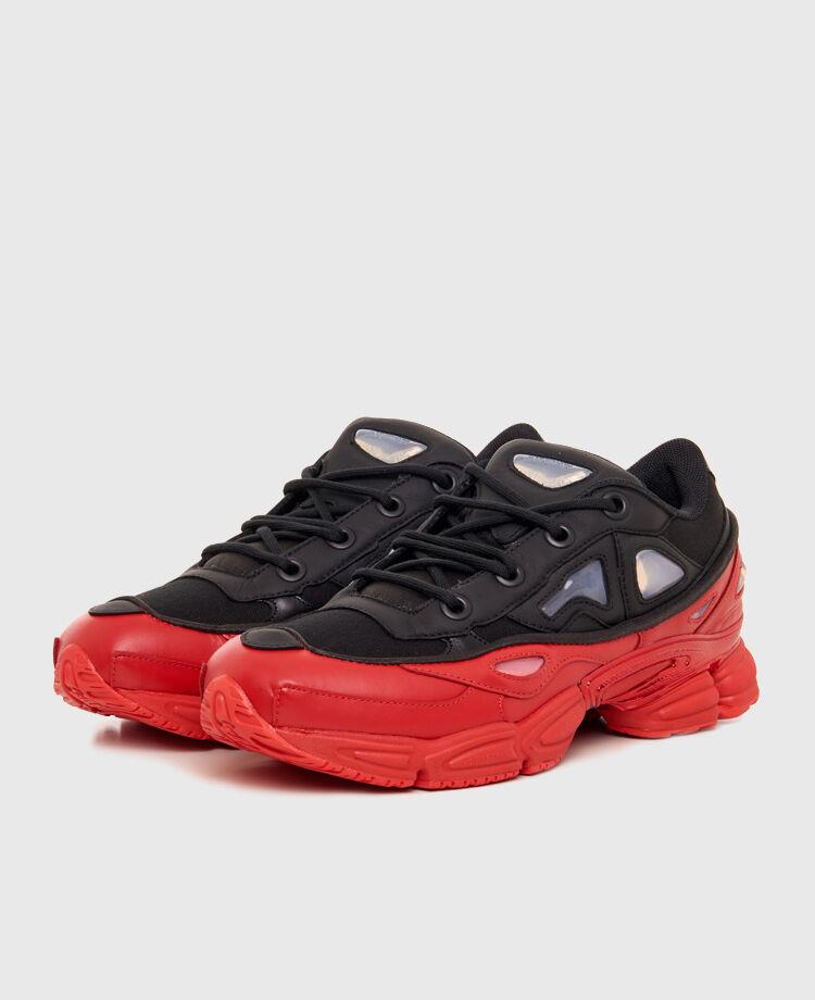 Adidas X Raf Simons Ozweego 3 3 3 AW 2018  Negro/ SCARLET SHIPPING NOW 79e36e