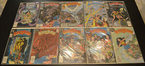 LOT-of-10-WONDER-WOMAN-27-29-30-32-36-37-40-42-43-47-1987-DC-HIGH-GRADE