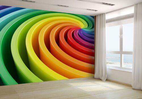 3d rendre de Coloré Papier peint photo 30118897 Premium Papier