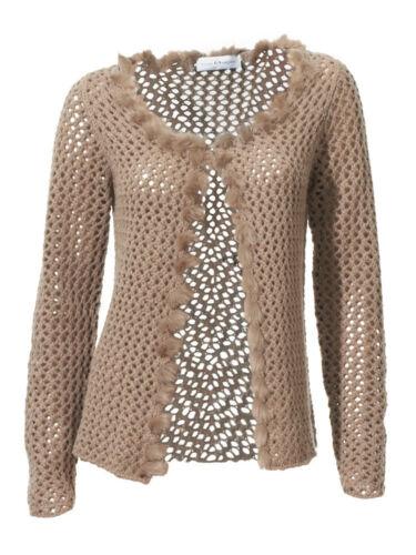 KP 69,90 SALE/%/%/% Singh S Crochet-Strickjacke Madan by heine NEU!! Beige