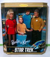 Mattel Barbie & Ken Star Trek Gift Set 30th Anniversary Collector Edition 1996