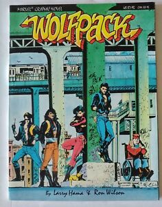 Marvel-Wolfpack-GN-1987-1st-Appearance-and-Origin-1-2-3-1988-Series