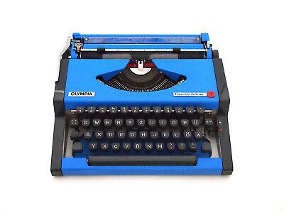 Olympia Traveller C Blue Ink Typewriter Ribbon Free Shipping