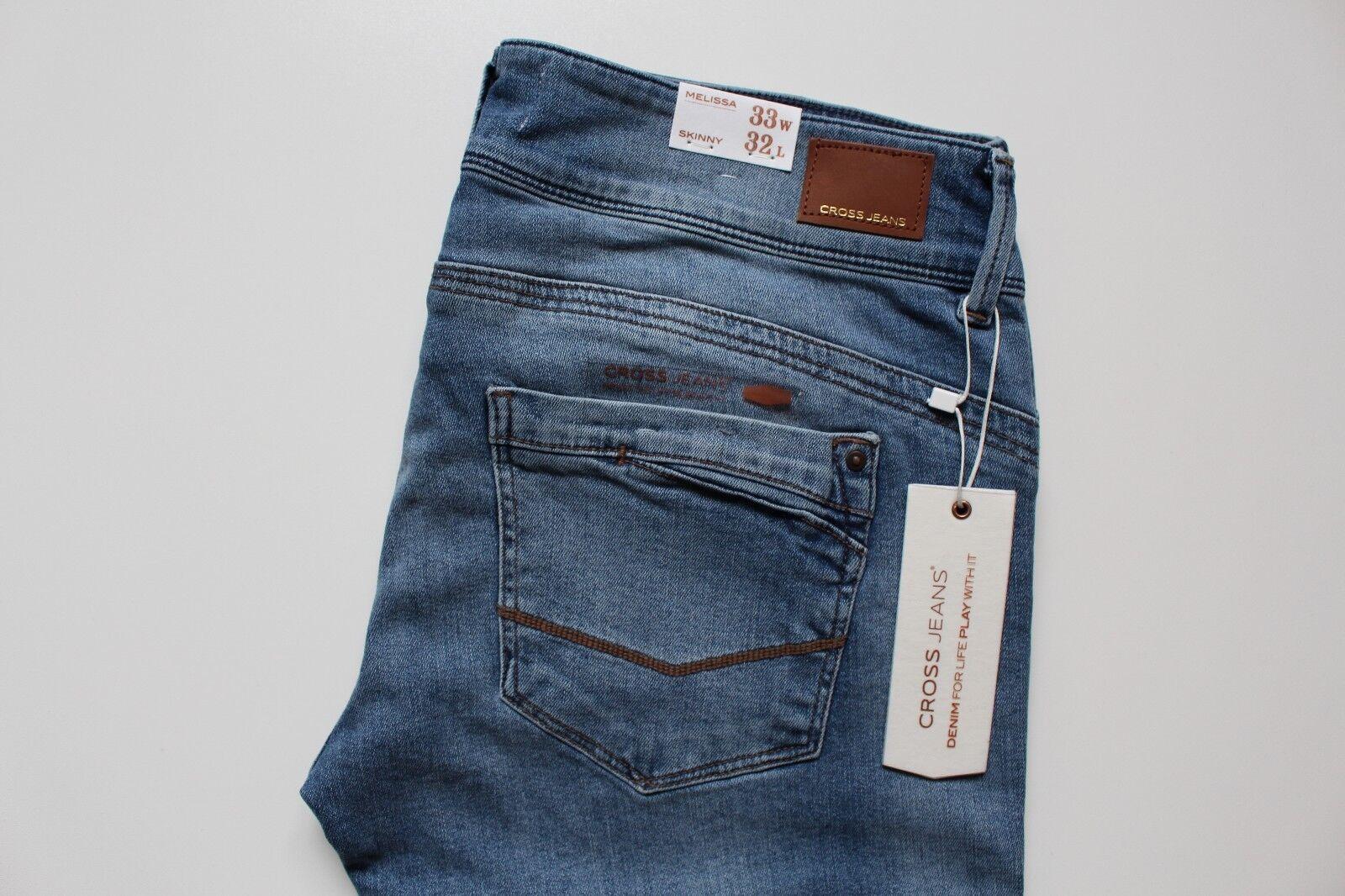 Cross Melissa Skinny Damen Jeans, Blau, W33 L32 | | | Haltbarkeit  | Mangelware  | Charmantes Design  | Moderner Modus  | Wirtschaft  7ff090