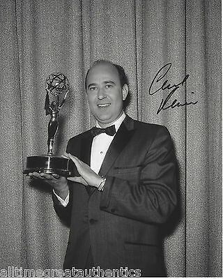 Carl Reiner Signed Authentic Golden Globes 8x10 Photo W/coa Oceans 11 Comedian Firm In Structure Photographs