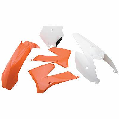Polisport Complete Replica Plastic Kit KTM Orange//White