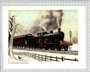 3828-Claud-Hamilton-Great-Eastern-Railway-Engine-c-1965-Print