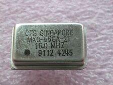 MX0-55GA-2I 16.0 MHz Quarzoszillator