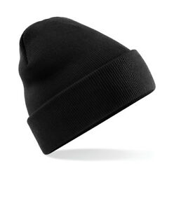 Pull On Beanie Hat | 60 Colours | Beechfield Original Soft Touch Cuffed Beanie by Ebay Seller