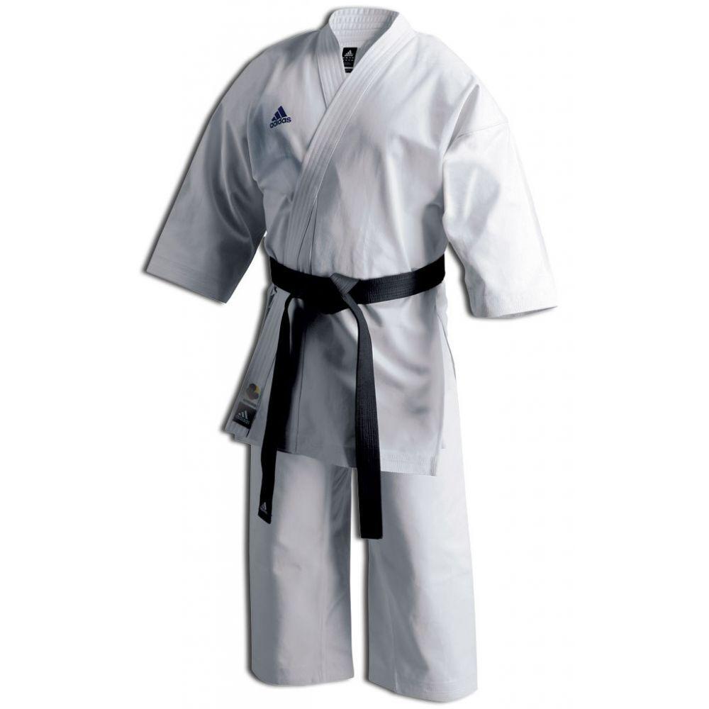 Adidas WKF Karate Kata Champion Gi, 14oz Uniform - K460J