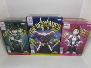 Banpresto My Hero Academia Age of Heores 2 set Izuku All Might figure Japan F//S