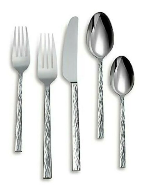 Vera Wang Wedgwood Chime Nouveau Stainless 5 Piece Place Setting For Sale Online Ebay