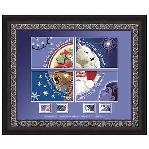USPS-New-Christmas-Carol-Framed-Art