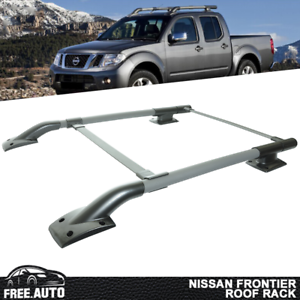 OE Style Roof Rack Rail Crossbar Luggage Carrier For 05-17 Nissan Frontier