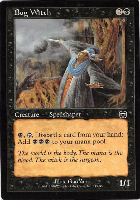 Nether Spirit Mercadian Masques NM Black Rare MAGIC GATHERING CARD ABUGames