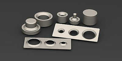 Dimple dies set 0.5 only tool offroad fabrication drift race car 4x4 jeep