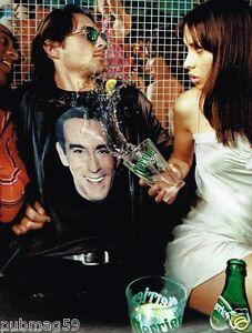 Publicité advertising 2002 Eau Perrier avec Thierry Ardisson