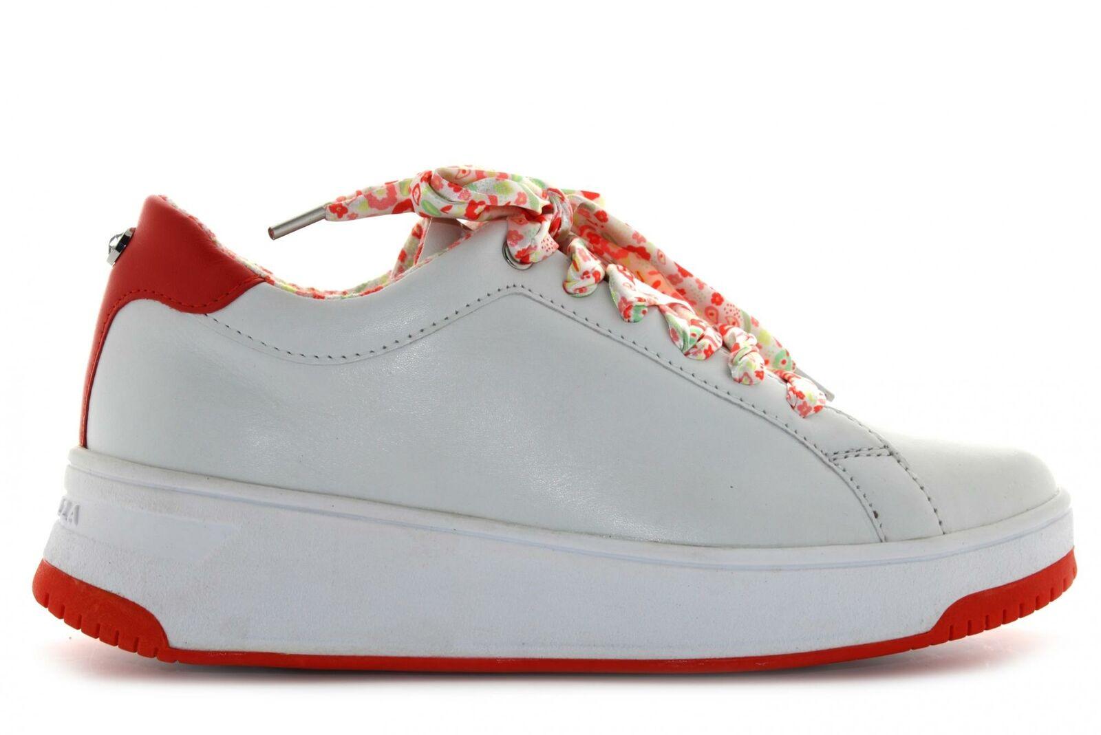 Apepazza P20f chaussures femme baskets basses S0BASKET04 / FLW BIBIANA BIANCO-RO