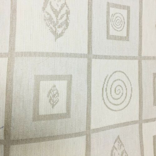 Cream//beige patterned upholstery fabric//material 137 cm width Fabric No 76