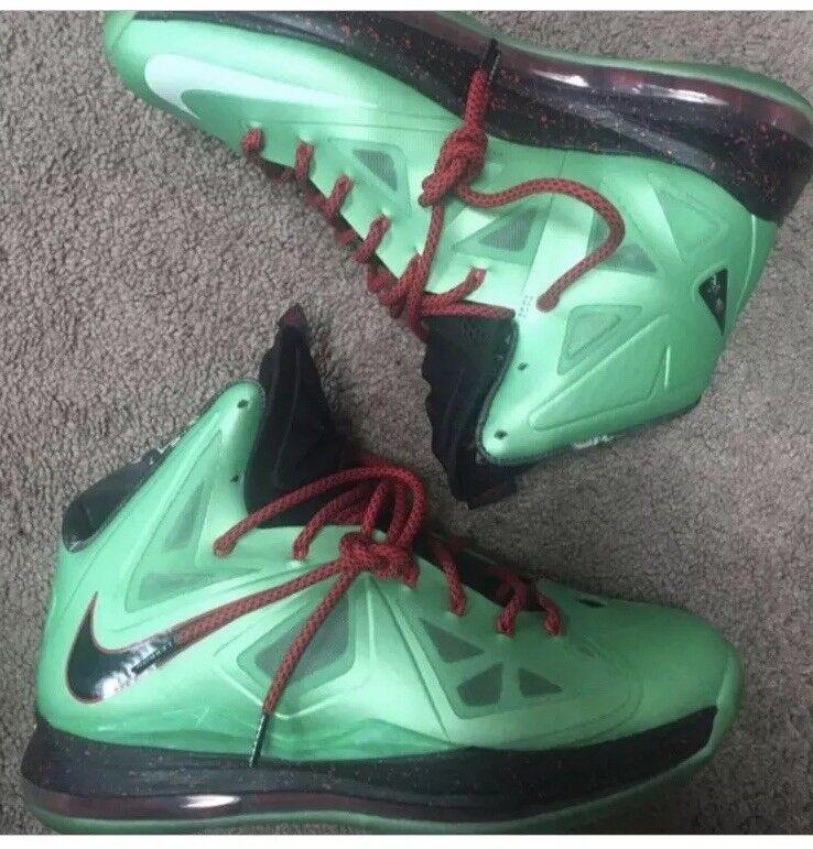 Men's Nike Lebron X 10 Cutting Jade Price reduction