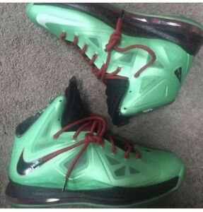 newest 729f2 d88ee Image is loading Men-039-s-Nike-Lebron-X-10-Cutting-