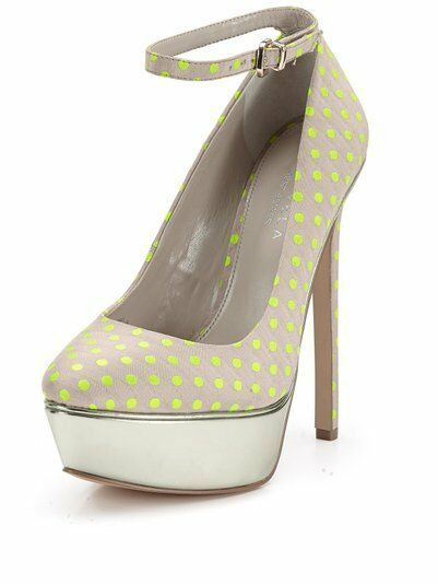 Carvela Granted Dotty Ankle Strap Platform chaussures Taille 6